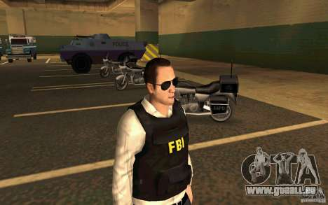 FBI HD pour GTA San Andreas deuxième écran