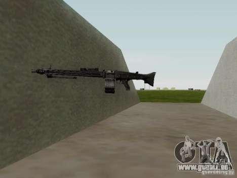 La mitrailleuse MG-42 pour GTA San Andreas cinquième écran