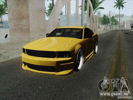 Ford Mustang GT Lowlife pour GTA San Andreas