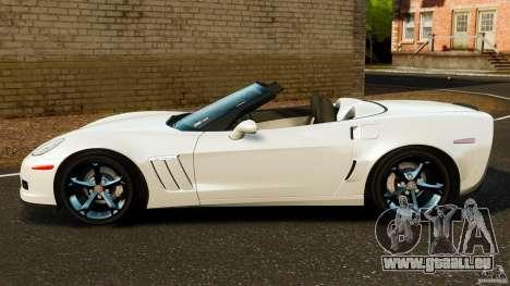 Chevrolet Corvette C6 2010 Convertible pour GTA 4 est une gauche