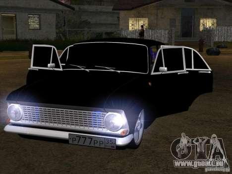 Moskvitch 408 Style supplémentaire pour GTA San Andreas laissé vue