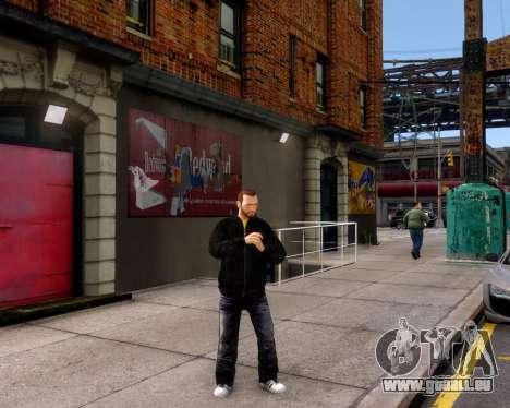 Veste Jacket pour GTA 4 quatrième écran