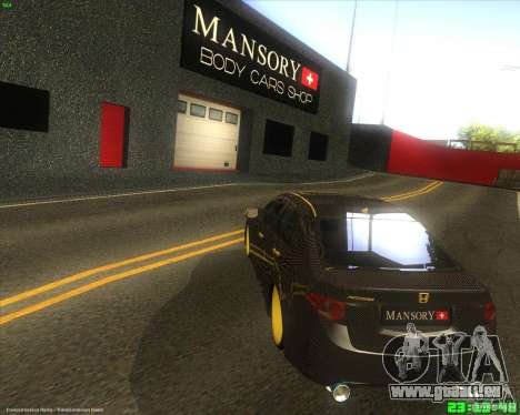 Honda Accord Mansory für GTA San Andreas zurück linke Ansicht
