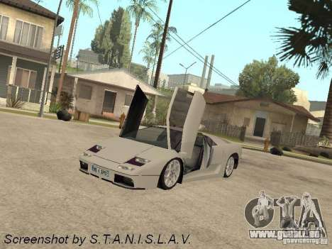 Lamborghini Diablo pour GTA San Andreas