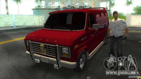 Ford E-150 Gang Burrito pour GTA Vice City