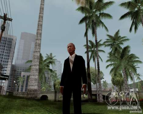 Morgan Freeman pour GTA San Andreas
