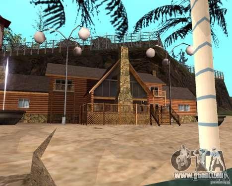 Villa in der Fischerei-Lagune für GTA San Andreas sechsten Screenshot