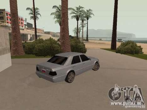 Mercedes-Benz E420 AMG pour GTA San Andreas vue intérieure
