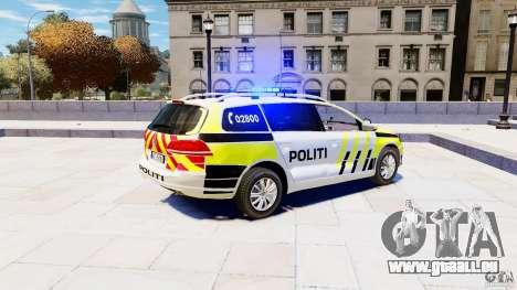 Volkswagen Passat B7 Variant 2012 pour GTA 4 est une gauche