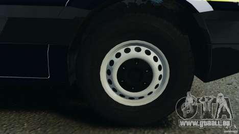 Mercedes-Benz Sprinter Police [ELS] pour GTA 4 vue de dessus
