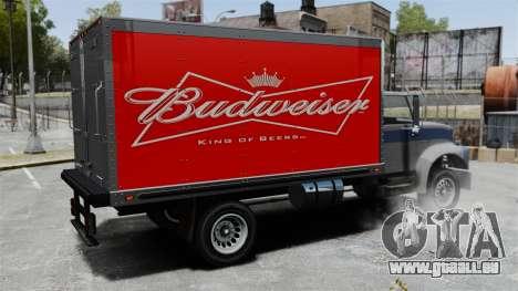 Die neue Werbung für LKW Yankee für GTA 4 rechte Ansicht
