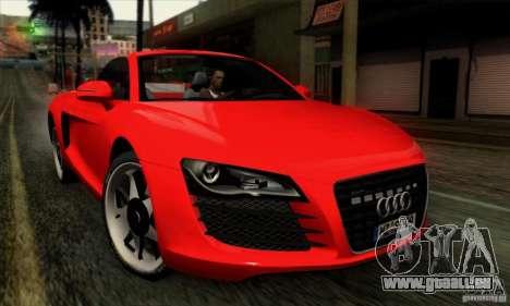Audi R8 Spyder Tunable für GTA San Andreas