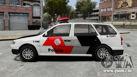 Volkswagen Parati G4 PMESP ELS pour GTA 4 est une gauche