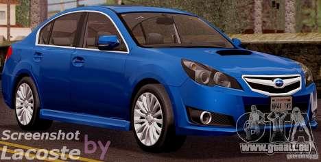Subaru Legacy B4 2010 für GTA San Andreas