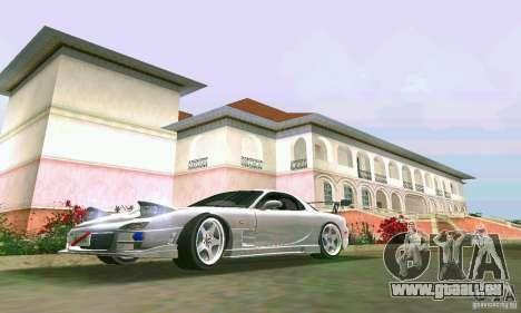 Mazda RX7 tuning pour GTA Vice City