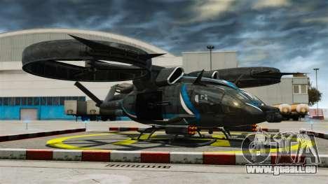 Hélicoptère de transport Samson SA-2 pour GTA 4