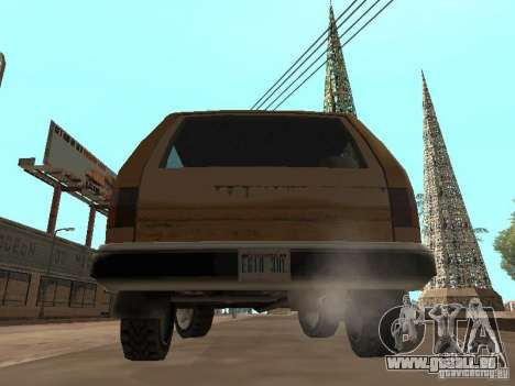 Landstalker nouveau pour GTA San Andreas vue de droite