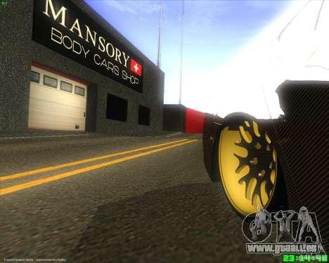 Honda Accord Mansory für GTA San Andreas Rückansicht