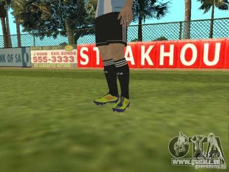 Lionel Messi pour GTA San Andreas cinquième écran