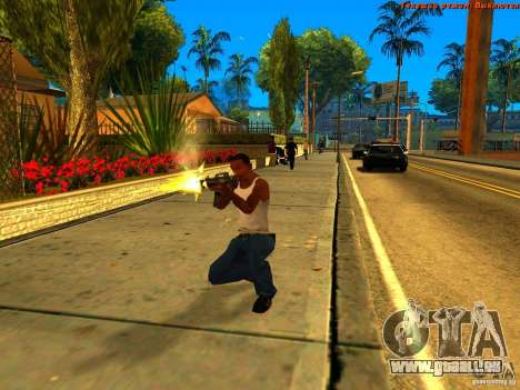 New Animations V1.0 für GTA San Andreas sechsten Screenshot