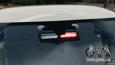 Chevrolet Impala Unmarked Detective [ELS] für GTA 4 Innen