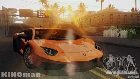 Lamborghini Aventador LP 700-4 pour GTA San Andreas