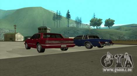 New Majestic für GTA San Andreas linke Ansicht