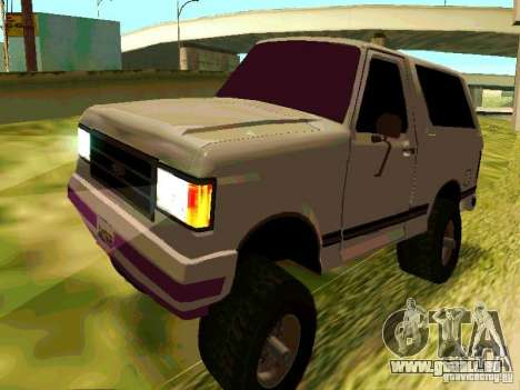 Ford Bronco 1990 pour GTA San Andreas