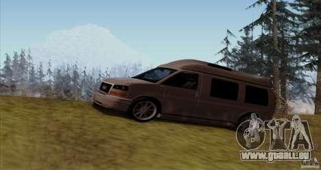 GMC Savana AWD für GTA San Andreas linke Ansicht