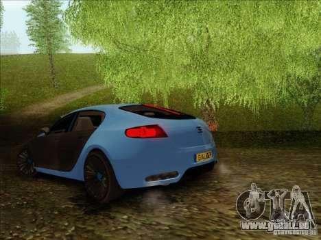 Bugatti Galibier 16c pour GTA San Andreas vue de droite