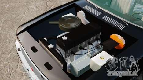 GAZ-3102-FBI für GTA 4 Rückansicht