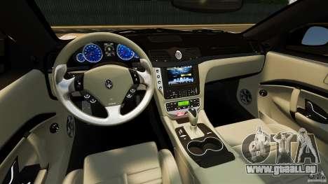 Maserati GT MC Stradale pour GTA 4 Vue arrière