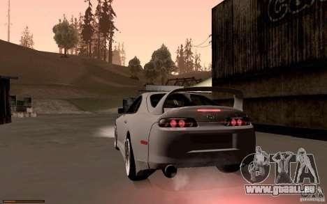 Toyota Supra D1 1998 für GTA San Andreas zurück linke Ansicht