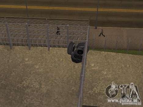 Bus parc version v1.2 pour GTA San Andreas troisième écran