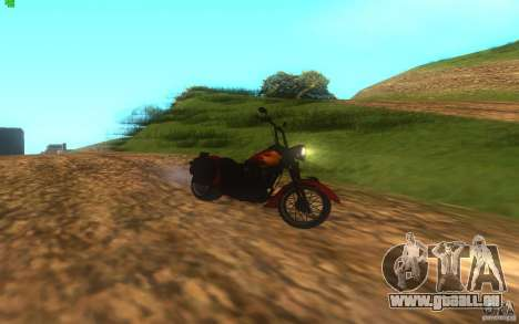 Motorcycle from Mercenaries 2 für GTA San Andreas