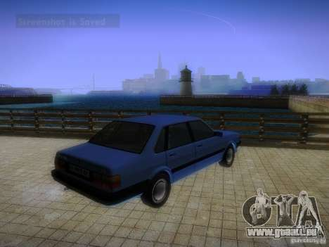 Audi 80 1987 V1.0 für GTA San Andreas rechten Ansicht