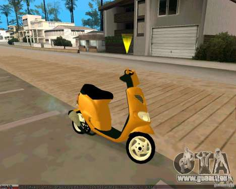 Piaggio Zip pour GTA San Andreas