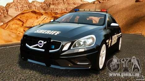 Volvo S60 Sheriff pour GTA 4