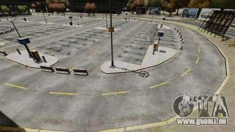 Dérive-piste à l'aéroport pour GTA 4 huitième écran