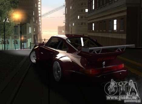 Porsche 911 Turbo RWB pour GTA San Andreas laissé vue