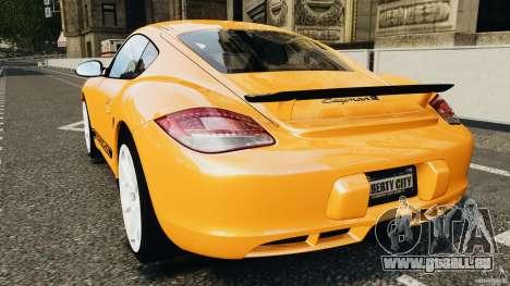 Porsche Cayman R 2012 [RIV] für GTA 4 hinten links Ansicht