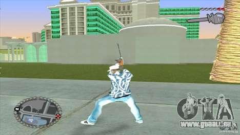 Ultra-modernes HUD für GTA San Andreas dritten Screenshot