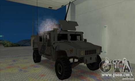 Humvee of Mexican Army pour GTA San Andreas laissé vue
