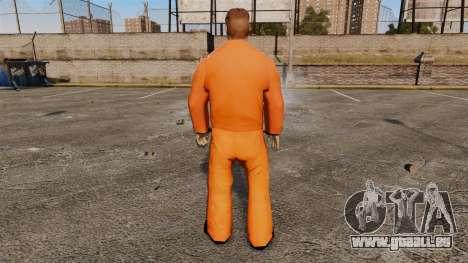 Sam Fisher v5 pour GTA 4 troisième écran