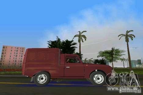 IZH 2715 pour GTA Vice City sur la vue arrière gauche