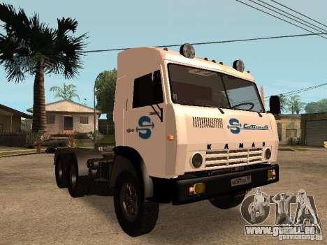 KAMAZ 5410 pour GTA San Andreas moteur