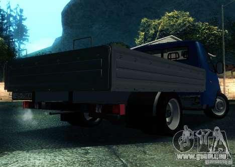 Gazelle 33021 pour GTA San Andreas laissé vue