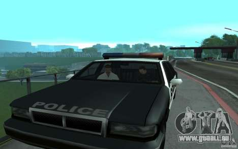 Police au pont, San Fierro pour GTA San Andreas quatrième écran