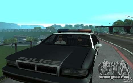 Polizei an der Brücke, San Fierro für GTA San Andreas her Screenshot