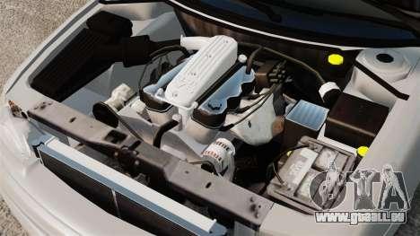 Dodge Intrepid 1993 Civil pour GTA 4 est une vue de l'intérieur